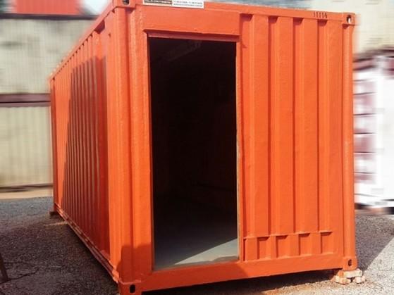Alugar Container com Ar Condicionado Valor Glicério - Alugar Container em Cotia