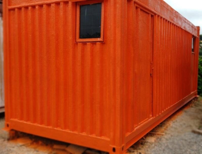 Alugar Container com Banheiro Preço Morumbi - Alugar Container com Banheiro