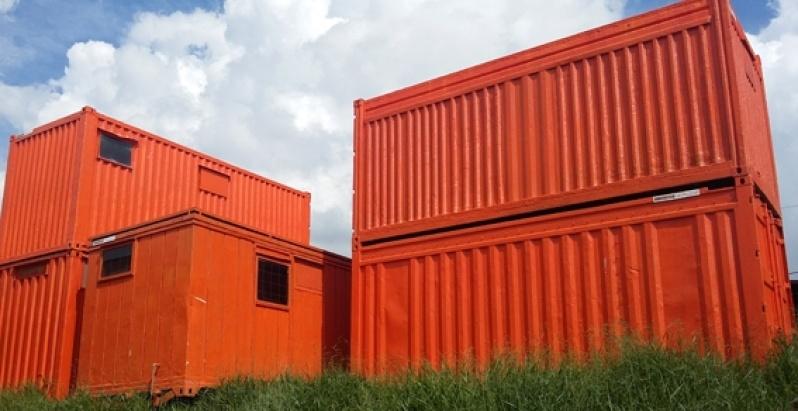 Alugar Container Marítimo Preço Mairiporã - Alugar Container com Banheiro