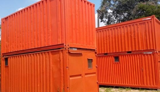Alugar Container para Guardar Material de Construção Taubaté - Container de Armazenamento