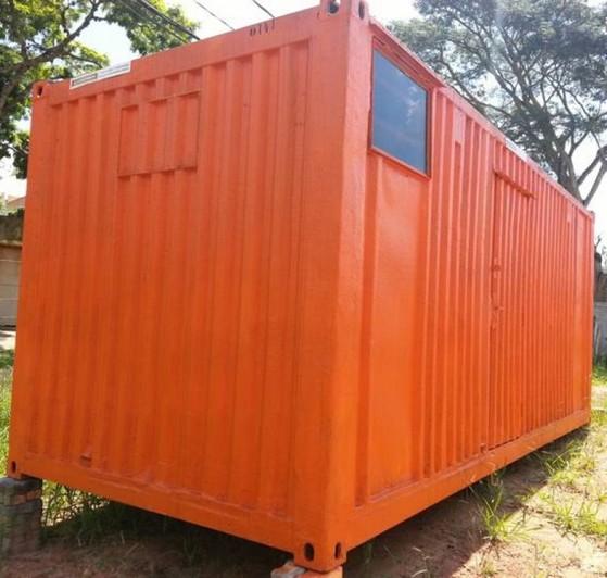 Alugar Container para Moradia Santo Amaro - Container para Guardar Material de Construção