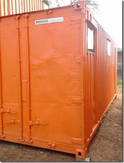 Alugar Container para Morar com Banheiro Centro - Container de Armazenamento