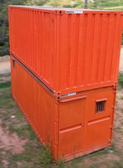 Alugar Container para Obras Sp Luz - Alugar Container com Banheiro