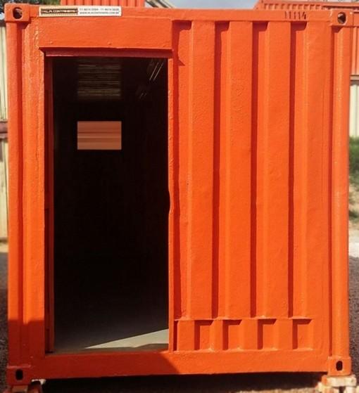 Alugar Containers com Ar Condicionado Araraquara - Alugar Container em Cotia