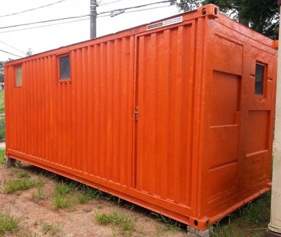 Alugar Containers Marítimos Santa Cecília - Alugar Container com Banheiro