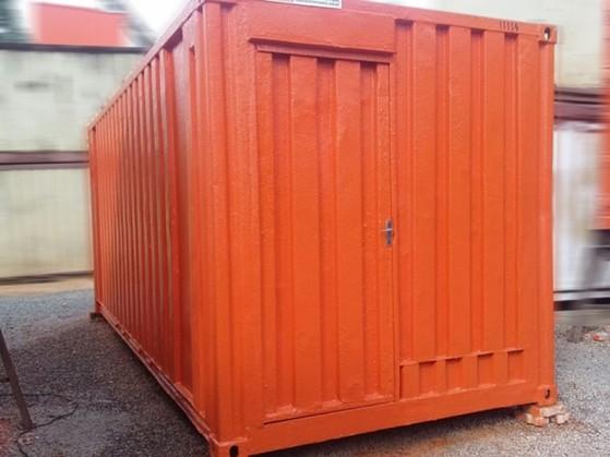 Alugar um Container Habitável Poá - Alugar Container para Habitação