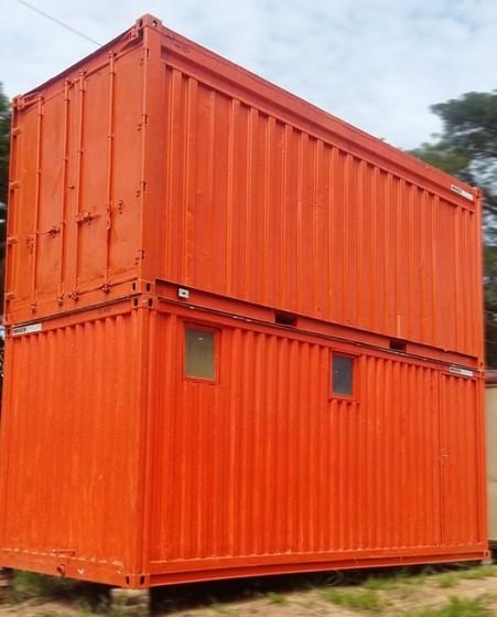 Aluguel de Container para Construção Civil Sp Santana de Parnaíba - Alugar Container de Construção Civil