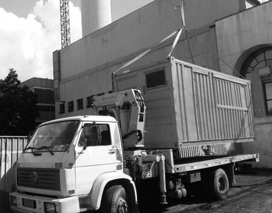 Caminhão Articulado para Içamento de Container Santana - Caminhão Carga para Içamento de Container