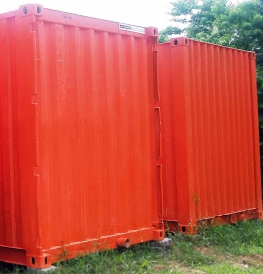 Caminhão Articulado para Transportar Container Centro - Caminhão Carga para Içamento de Container
