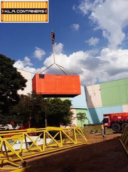 Caminhão para Içar Container Jardim Iguatemi - Suspensão de Container Vazio com Caminhão Carga
