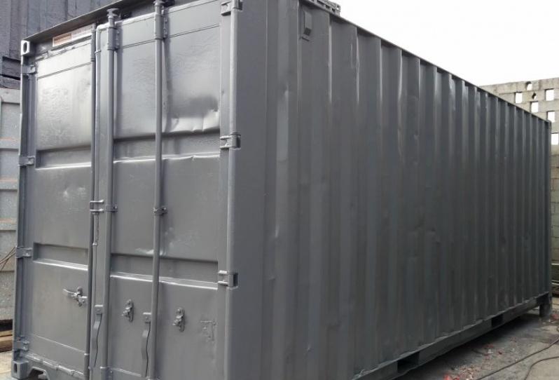 Container de Armazenamento de Carros Cidade Jardim - Container de Armazenamento