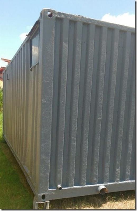 Container de Armazenamento Preço Vila Esperança - Container para Obras de Construção