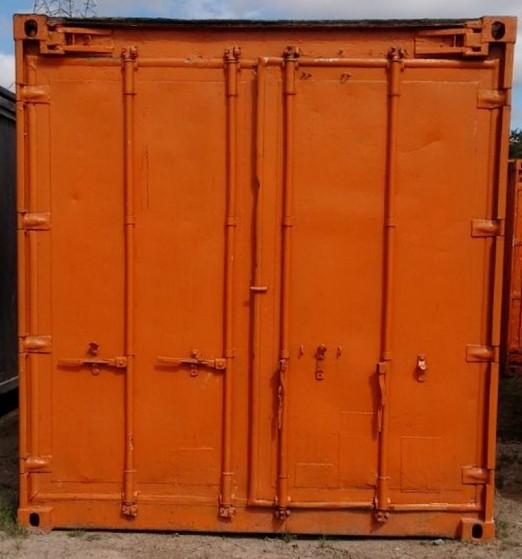 Container de Armazenamento Caraguatatuba - Container para Obras de Construção Civil