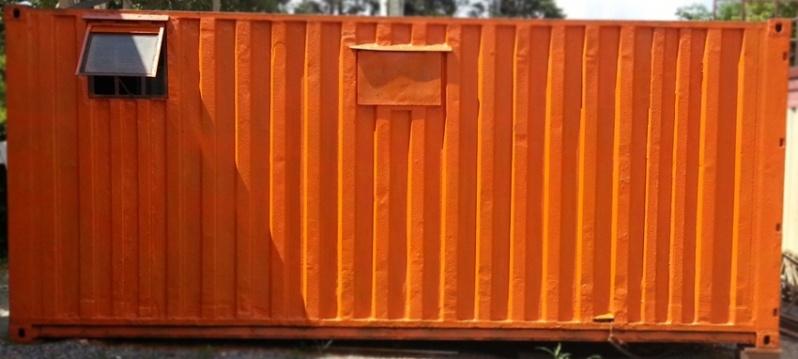Container Habitável Locação Ferraz de Vasconcelos - Container para Habitação