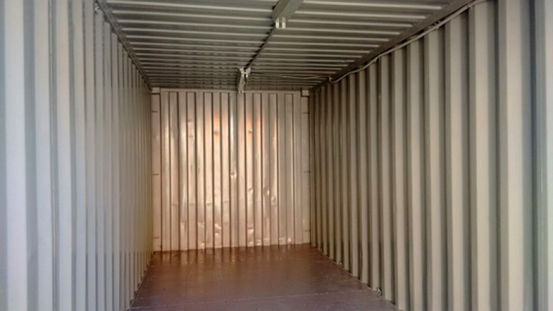 Container para Armazenamento Preço Santa Cecília - Container para Obras de Construção