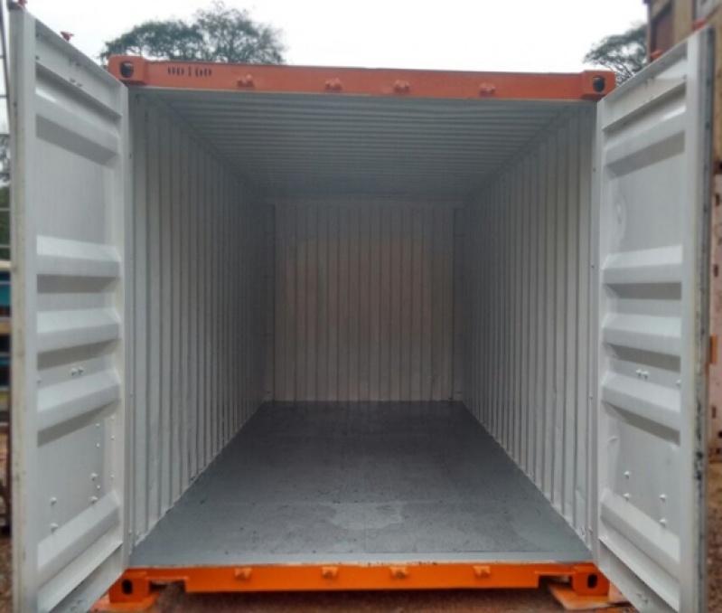 Container para Armazenar Ração Preço Francisco Morato - Container para Guardar Material de Construção