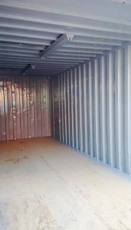 Container para Armazenar Ração Mongaguá - Container para Guardar Material de Construção