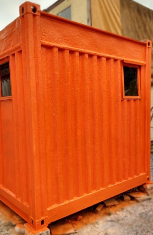 Container para Depósito Sp Tremembé - Container de Depósito
