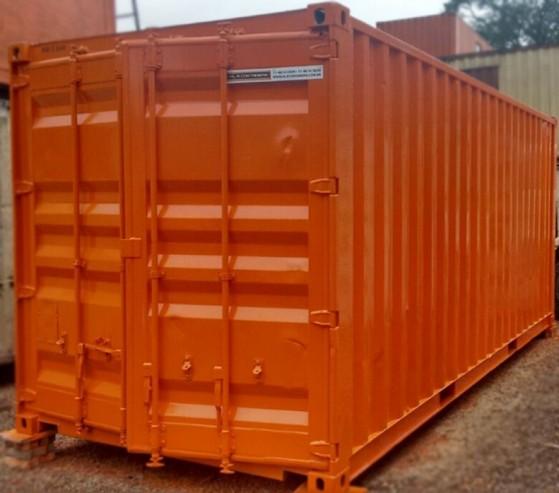 Container para Depósito Sé - Aluguel de Container para Depósito