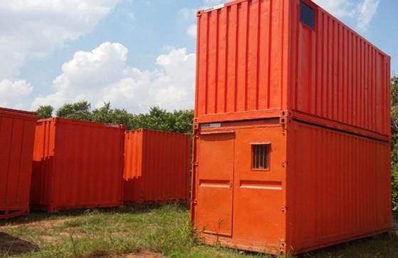 Container para Guardar Material de Construção Atibaia - Container para Morar com Banheiro