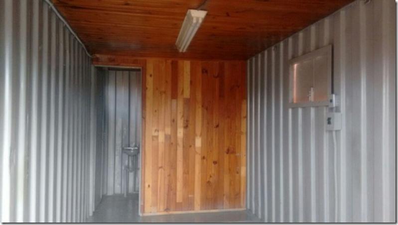 Container para Morar com Banheiro Preço Bela Vista - Container para Armazenamento