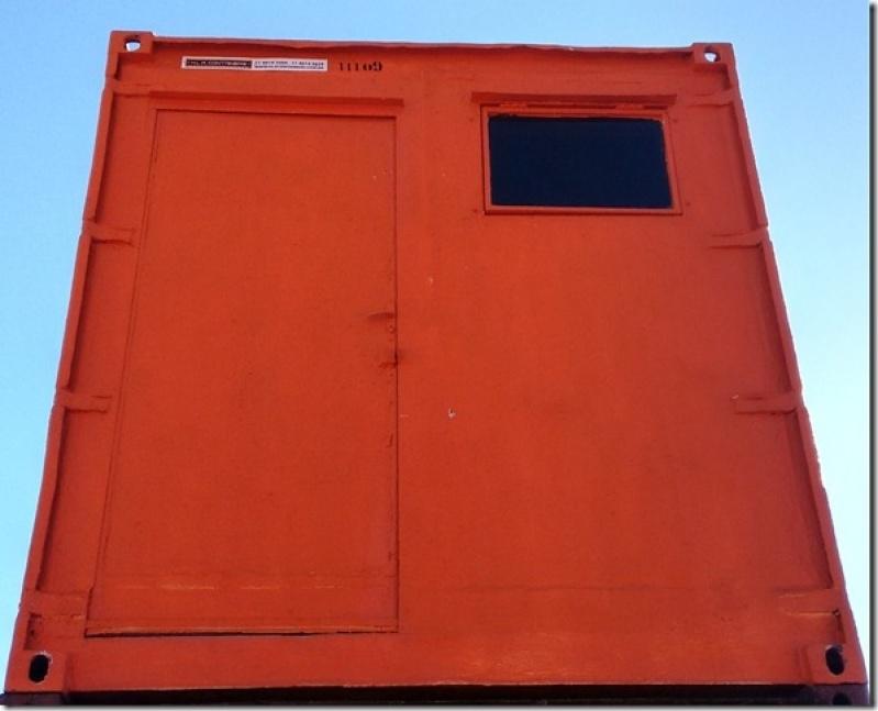 Container para Obras de Construção Civil Preço Bom Retiro - Container para Guardar Material de Construção