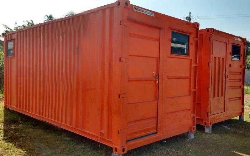 Container para Obras de Construção Consolação - Container para Morar com Banheiro