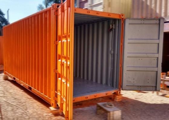 Containers para Armazenar Ração Anália Franco - Container para Obras de Construção