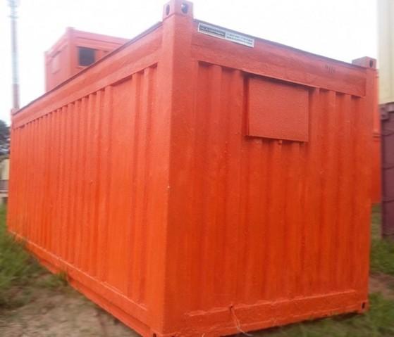 Containers para Depósito Água Rasa - Containers de Depósito