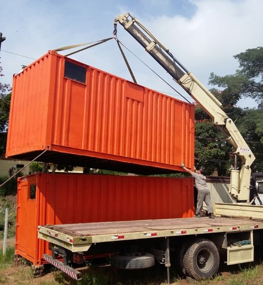 Containers para Guardar Material de Construção Ibirapuera - Container para Obras de Construção Civil