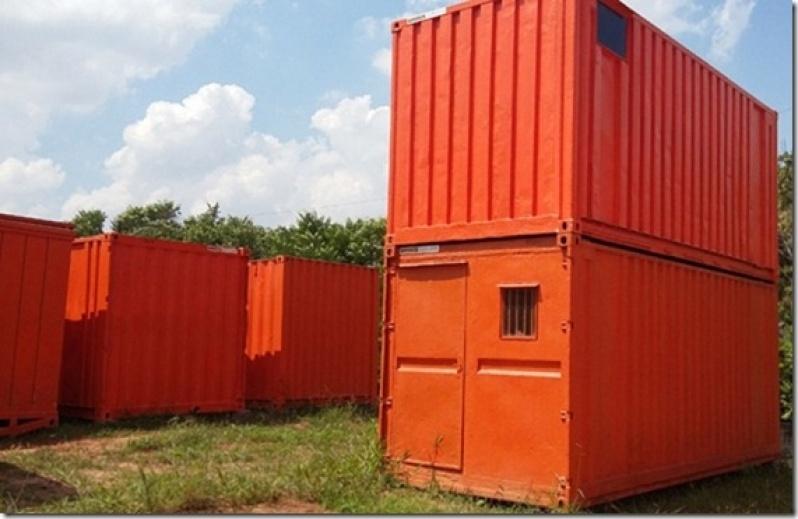 Containers para Obras de Construção Civil Itatiba - Container para Armazenar Ração