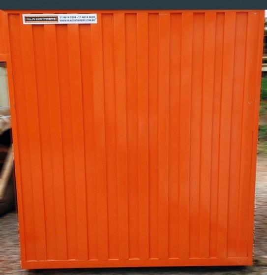 Containers Tipo Depósito Araras - Locação de Container Depósito
