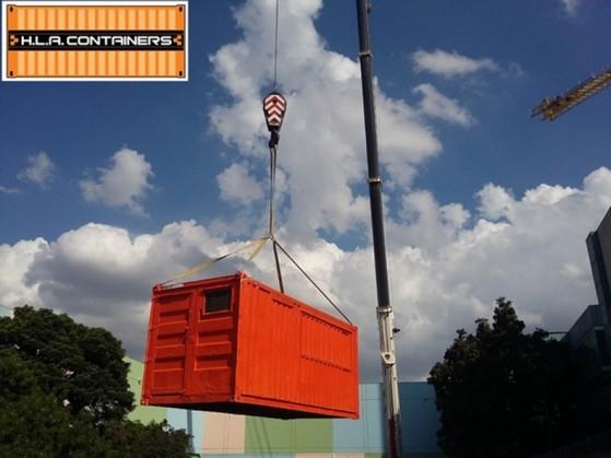 Içamento de Container com Caminhão Articulado Brooklin - Suspensão de Container Vazio com Caminhão Carga