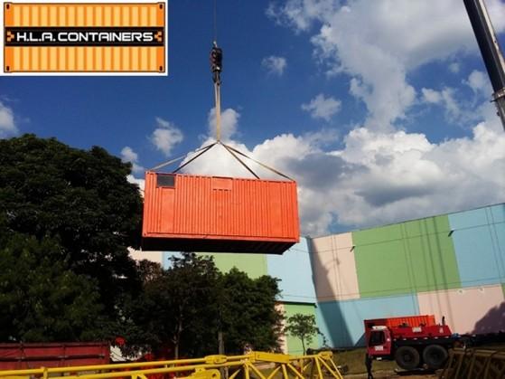 Içamento de Container em Articulado Ilhabela - Içamento de Container