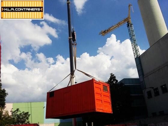 Içamento em Container Salesópolis - Suspensão de Container Vazio com Caminhão Carga