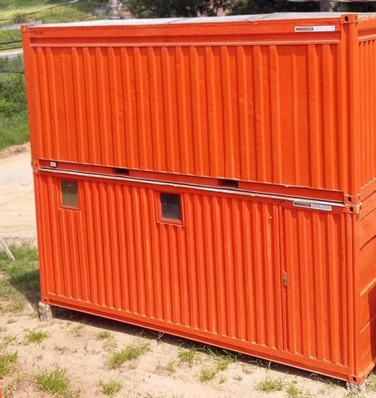 Locação Container com Banheiro Carapicuíba - Locação de Container com Ar Condicionado