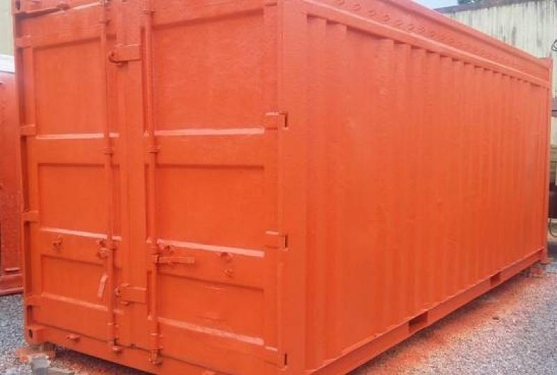 Locação de Container de Armazenamento de Carros Vila Esperança - Container de Armazenamento