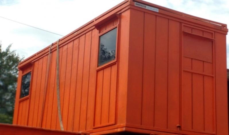 Locação de Container Habitável Preço Freguesia do Ó - Container para Habitação