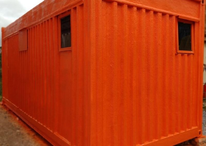 Locação de Container Habitável Cubatão - Alugar Container para Habitação