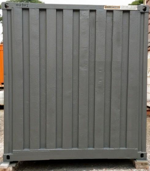 Locação de Container Obra Preço Perus - Locação de Container de Obra