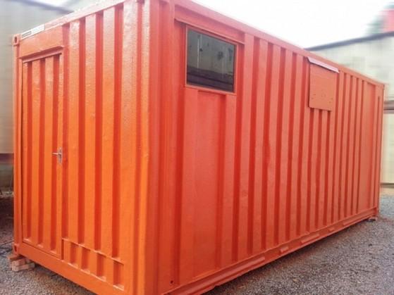 Locação de Container para Armazenamento Centro - Container para Guardar Material de Construção