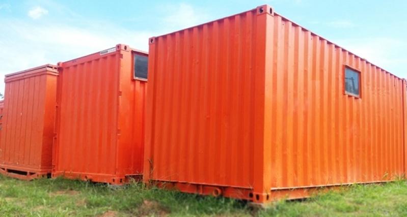Locação de Container para Obra Preço Itatiba - Locação de Container Marítimo