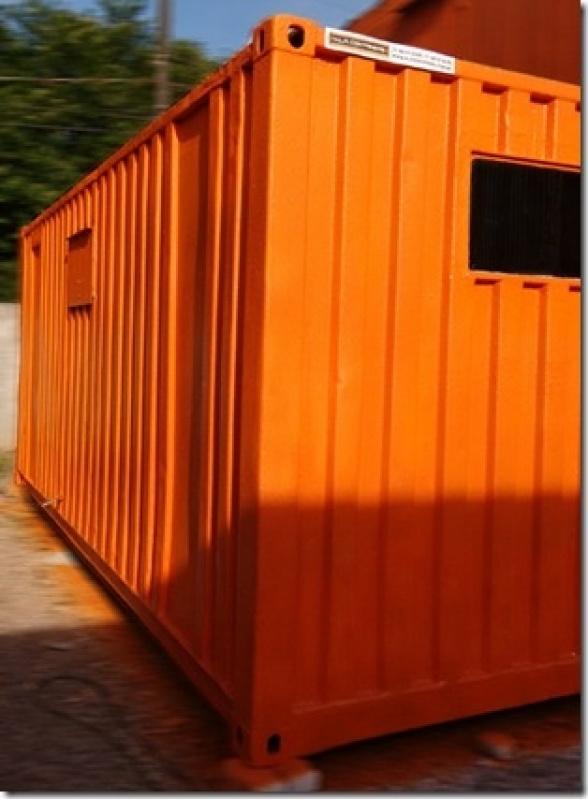 Locação de Container para Obras de Construção Civil Paulínia - Container de Armazenamento de Carros