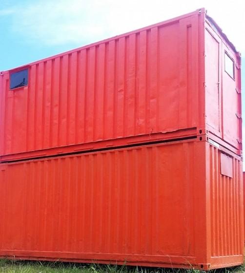 Locação de Container Sanitário Valor Rio Grande da Serra - Alugar Container Sanitário