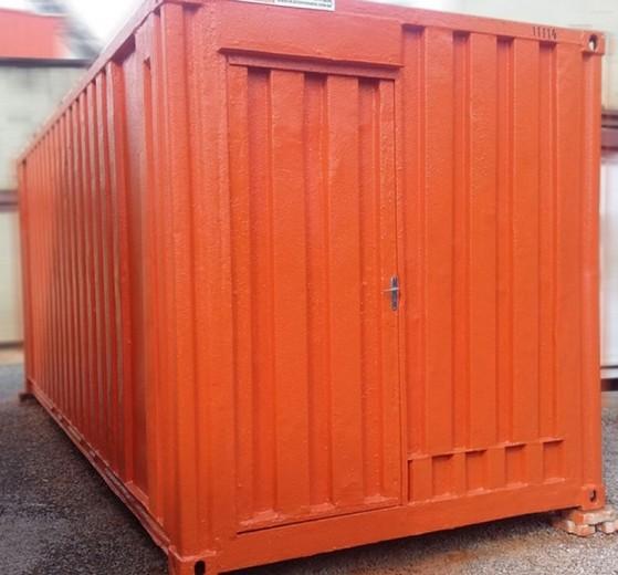 Locação de Container Santo André - Locação de Container para Construção