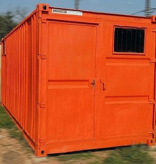 Locação de Containers Habitáveis Sp Água Rasa - Container para Habitação