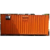 alugar container com ar condicionado preço Santo Amaro