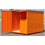 alugar container construção Itu