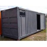 alugar container escritório com banheiro Vila Carrão