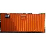 alugar container para construção civil preço Engenheiro Goulart